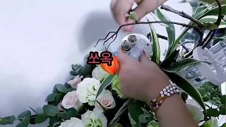 [꽃수업-플라워레슨]여자친구용돈꽃바구니.용돈박스.용돈코…