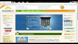 How to get traffic to affiliate offers using easy hits 4 u Video