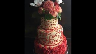 U cioci w kuchni - tort weselny (część 1)