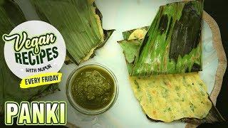 Vegetable Panki Recipe - How To Make Panki - Snack Recipe - Vegan Series By Nupur - Rajshri Food