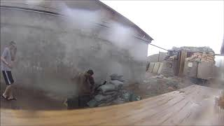 """Short Round"" Mortar Fail In Afghanistan"