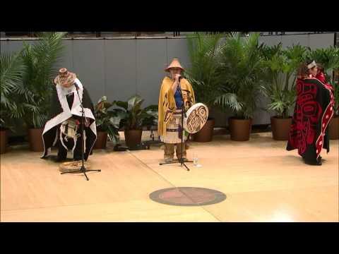 Northwest Coast Dance Celebration - Lepquinm Gumilgit Gagoadim 1