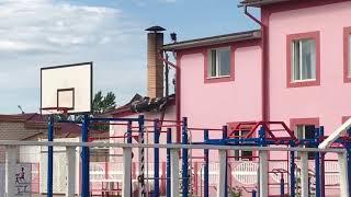 Сегодня ночью в Соль-Илецке горело кафе «Олива». Часть 2