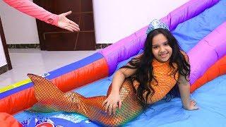شفا تحولت لحورية البحر الصغيرة !  !Shfa turned to a little mermaid