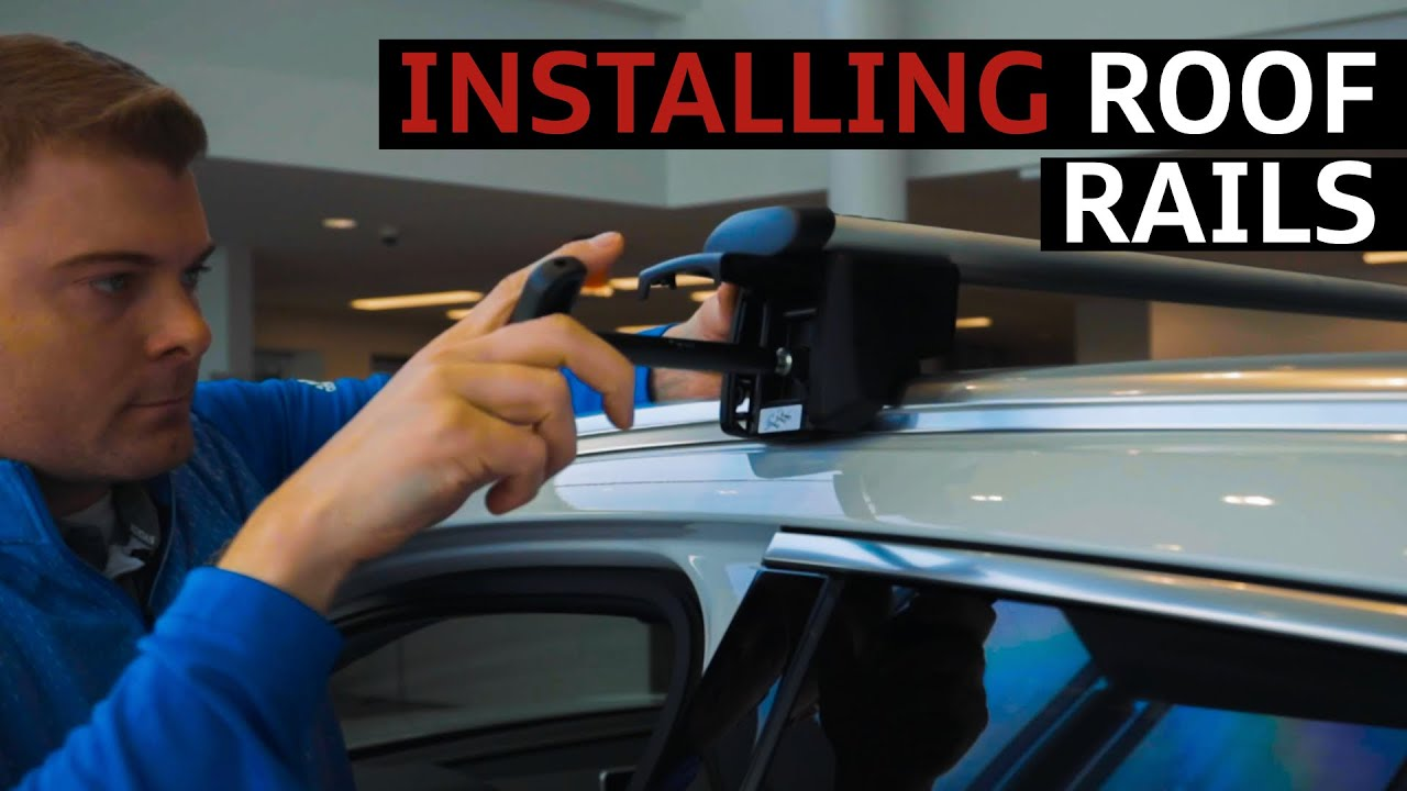 how to install roof rails on an audi suv