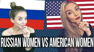 Difference between Russian women and American women