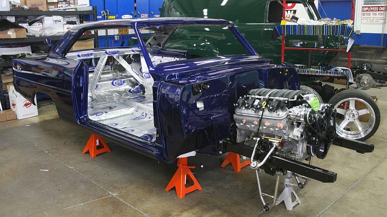 1966 Chevrolet Chevy II / Nova 525hp LS3 Pro Touring Build Project