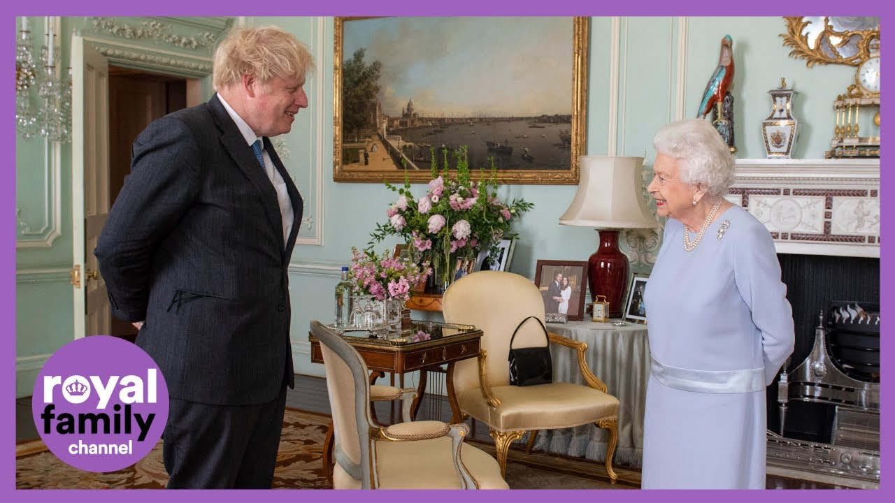 The Queen Hosts PM Boris Johnson For First In-Person Meeting Since Lockdown Began