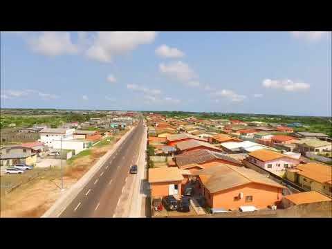 Gabon - Voie Forasol  Mbega dans la ville de PORT GENTIL