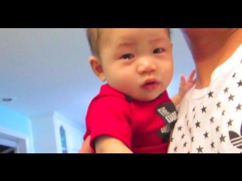 Baby Falls Off The Bed! - Daily Vlog 478 - December 10th, 2016