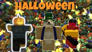Roblox Tower Battles - How to Beat the Halloween Event!