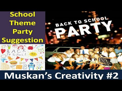 Get Back To School School Theme Party Ideas A Unique Party Idea