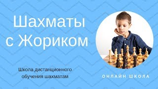 Шахматы с Жориком Онлайн школа обучения шахматам 18+