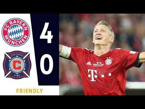 Download Beyern Munich vs Chicago fire 4-0 All Goal & Extended Highlight 2018