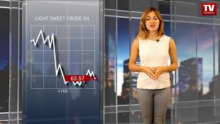 InstaForex tv news: Oil's downside is capped while cryptocurrencies plunge  (06.02.2018)