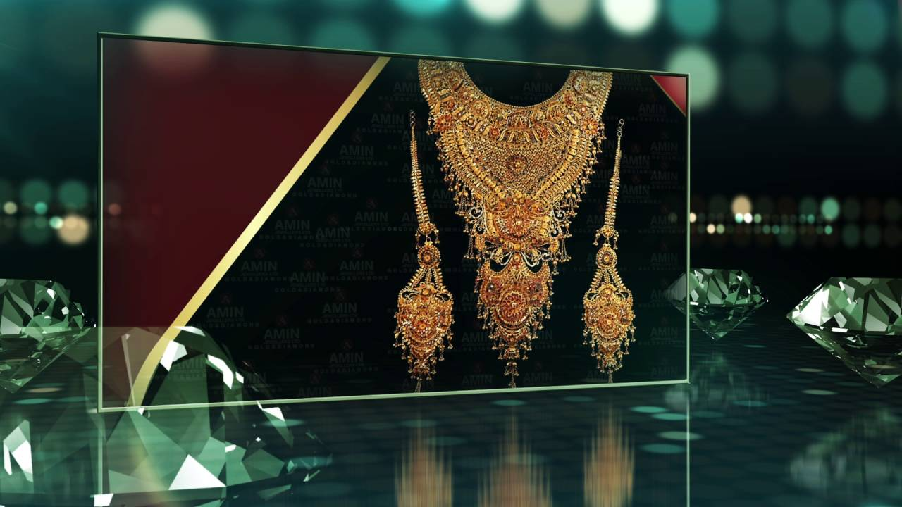 Amin Jewellers Real Product & Logo Presentation 2 - YouTube