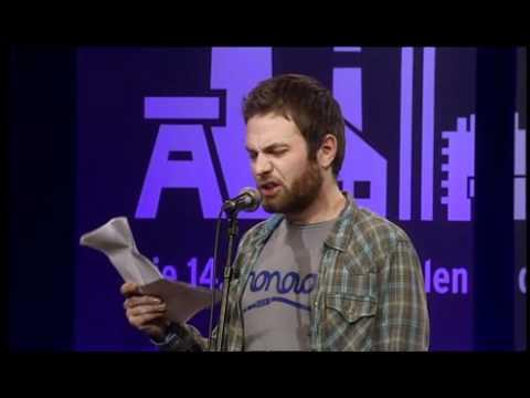 Poetry Slam - Patrick Salmen - rostrotkupferbraunbronze