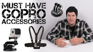 Must Have GoPro Accessories | Must Buys For the New GoPro Owner