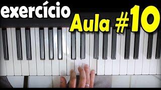 Baixar Aula de Teclado 10 Exercício para soltar os dedos no piano (para iniciantes)