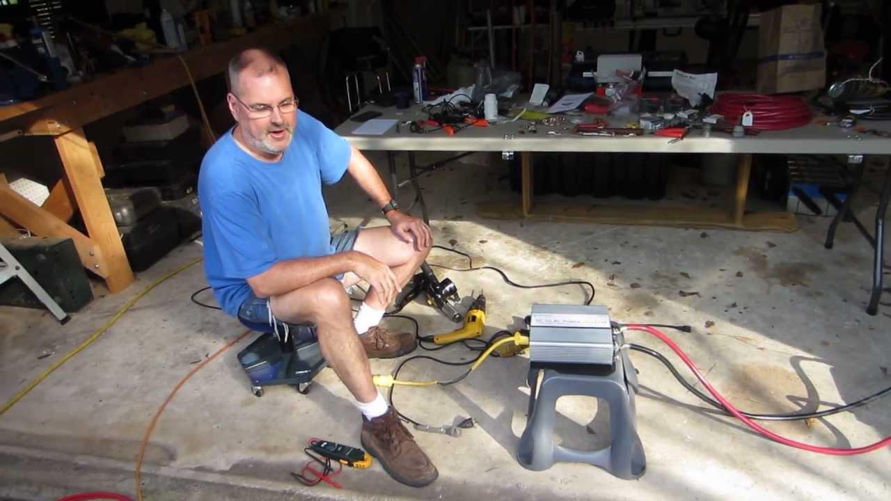 Wiring A Power Inverter To Truck Custom Diagram How Wire An Ram Install 2 Youtube Rh Com Rv