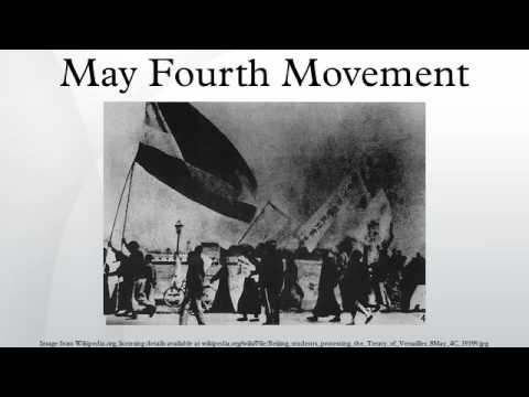 the may 4th movement in china