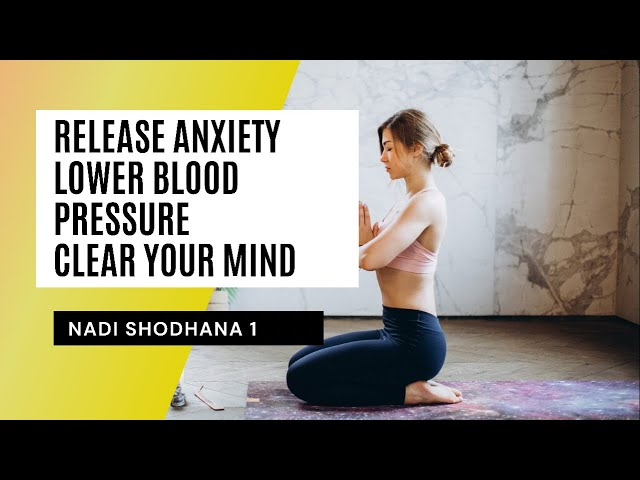 Therapeutic yoga for high blood pressure and anxiety