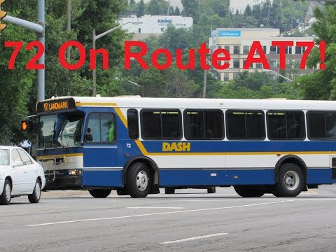 NeoplanDude   Alexandria DASH 2002 Orion V #72 On Route AT7, To Landmark Mall!