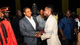 vuclip Hotuba ya Diamond, Ali Kiba, Nikki wa II, Idris na JK mwenyewe alivyoagwa.