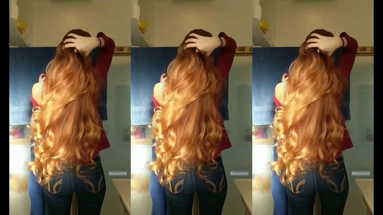 long hair color of wheat