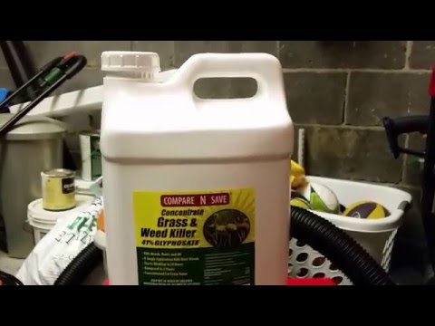 41 GLYPHOSATE GRASS AND WEED KILLER YouTube