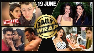 Priyanka Nick Romantic Photo, Deepika Bonds With Kendell Jenner, Salman Shirtless | Top 10 News