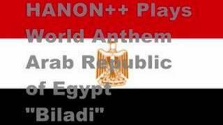 エジプト・アラブ共和国 国歌 | HANON++ Plays World Anthem!