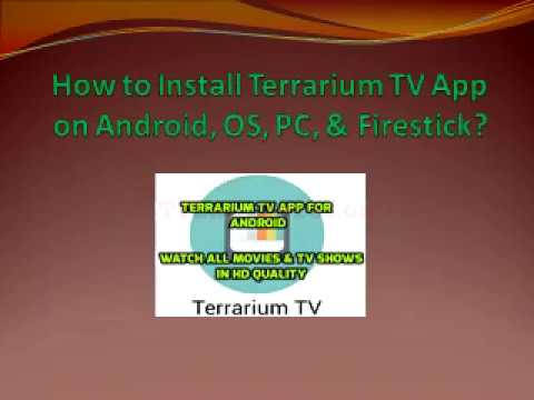 Terrarium TV App: Download for Android, iOS, PC, and Firestick