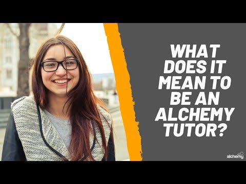 What It Means To Be An Alchemy Tuition Tutor