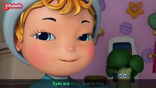 Chubby Cheeks Dimple Chin | Nursery Rhymes for Kids | Infobells