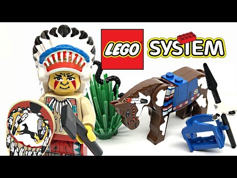 LEGO Wild West Tribal Chief review! 1997 set 6709!