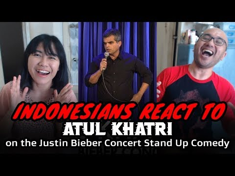 Atul Khatri on the Justin Bieber Concert | INDONESIAN REACTION