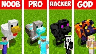 Minecraft - NOOB vs PRO vs HACKER vs GOD : CHICKEN MUTANT in Minecraft ! AVM SHORTS Animation