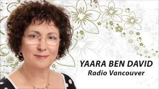 Interview with poet Yaara Ben David on the World Poetry Cafe radio program