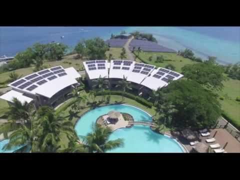 Iririki Resort & Spa Vanuatu solar by Sunergise