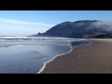 Manzanita morning walk on the beach
