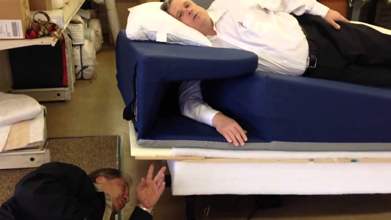 Isidesleep Split King Revolutionary Adjustable Incline Bed Youtube