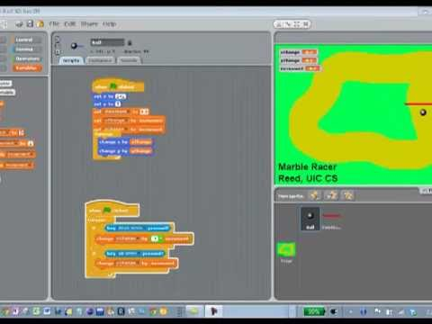 Scratch Programming Marble Racer Demo