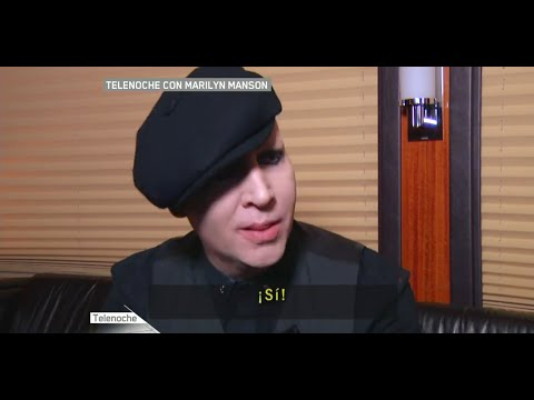 Marilyn Manson - Telenoche Interview