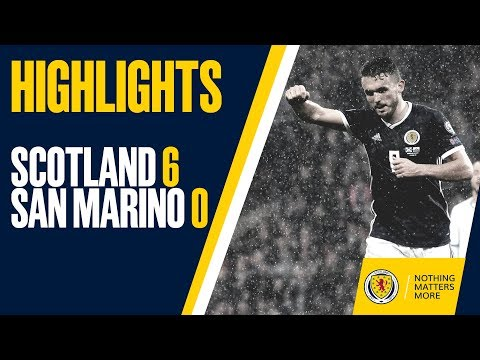HIGHLIGHTS | Scotland 6-0 San Marino - John McGinn scores a hat-trick