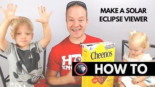 How to make an indirect solar eclipse viewer from a cereal box