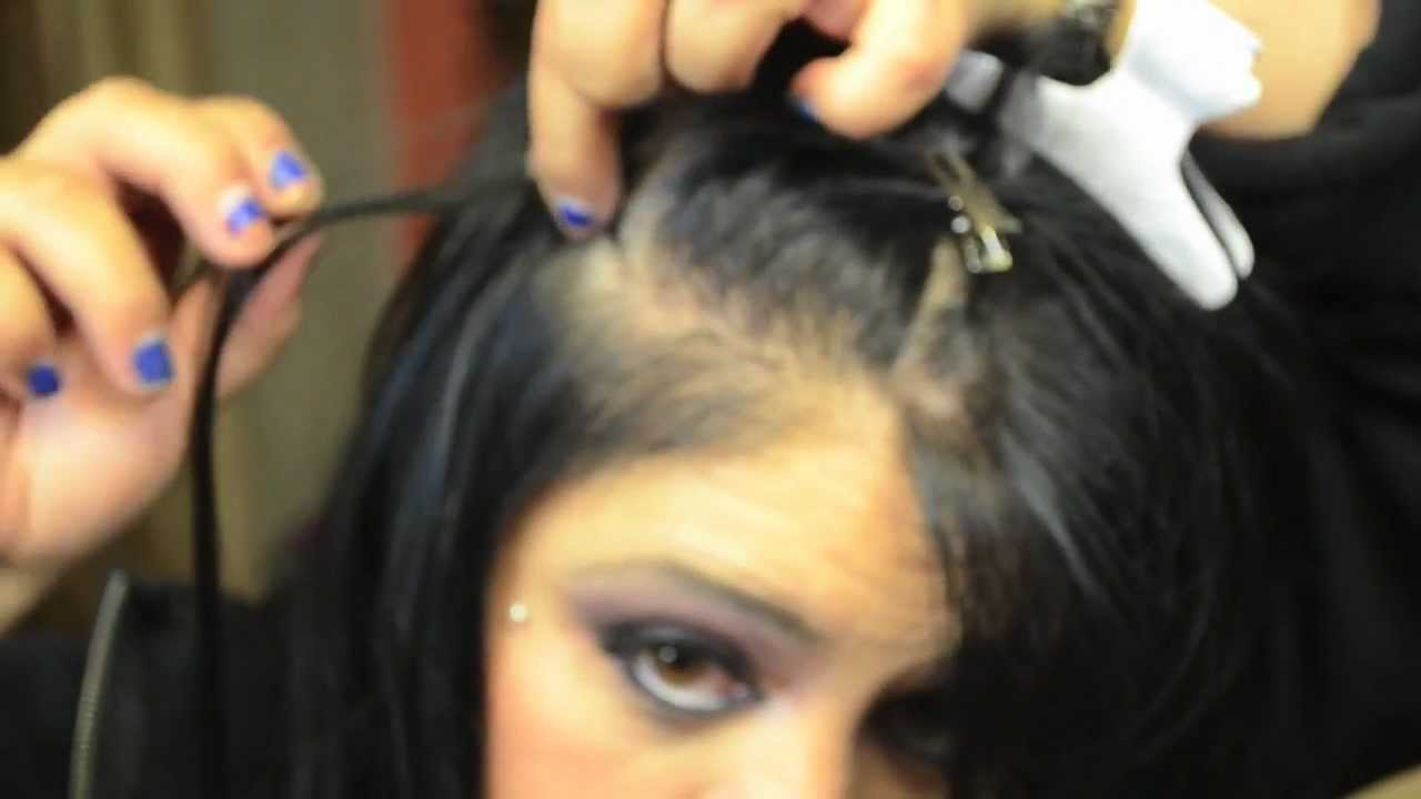 How To Apply Micro Ring Loop Hair Extensions Step By Step