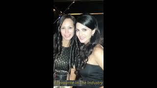 Anchor host Sunaina Singh hosting cocktail night for a destination wedding