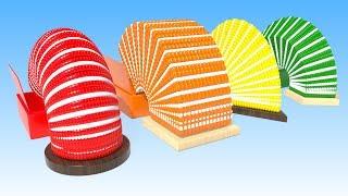 ✅ Цветные печеньки // Учим формы и цвета // Развивающий мультик для малышей