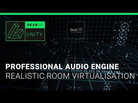 dearVR – 3D audio reality engine | VR demo | binaural sound design for headphones